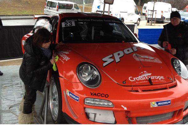 Derniers préparatifs de la 911 GT3 RS, 4.0 L de Romain Dumas