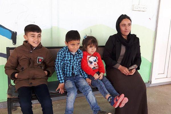 Le bureau de sauvetage des otages yézidis au Kurdistan irakien. Dahuk, février 2019