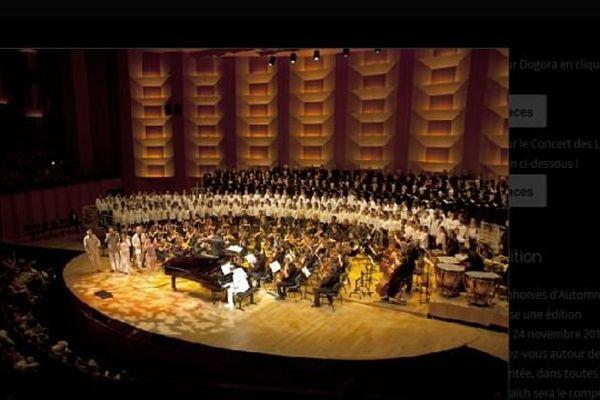 Dogora, le concert événement du festival des Symphonies d'Automne réunira 600 choristes à Mâcon