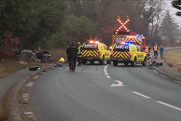 L'accident mortel a eu lieu dimanche 3 décembre aux alentours de 8h00 route de Concyr à Orléans-La Source