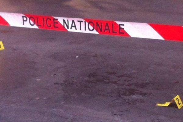 La scène de l'attaque,  a proximité du consistoire juif, rue Jean Médecin à Nice.