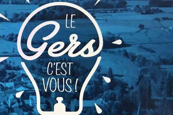 Le logo de la nouvelle campagne de budget participatif du Gers