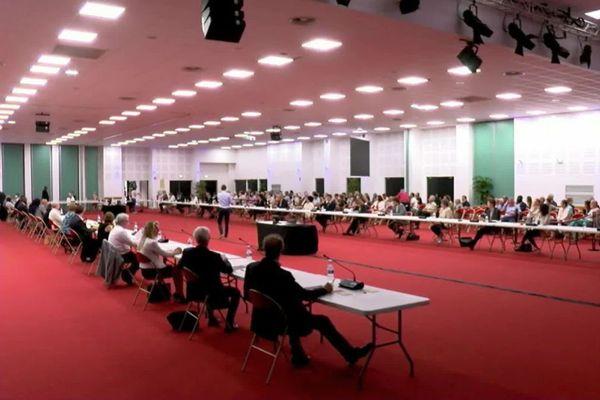 Crescent Marault a été élu maire d'Auxerre lors du conseil municipal d'installation qui a eu lieu dimanche 5 juillet 2020.