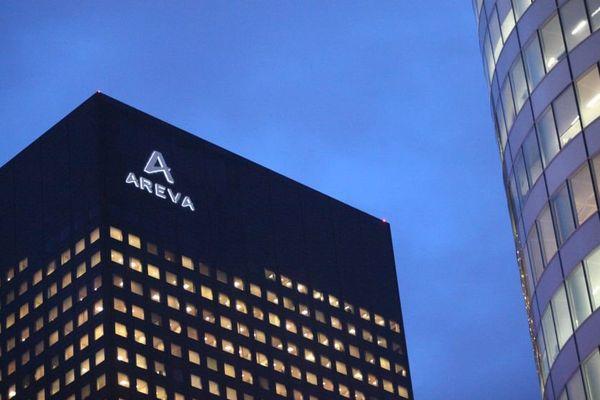 La tour du groupe nucléaire Areva à la Défense