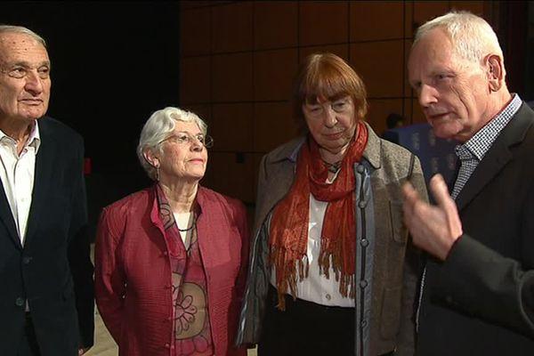Des enfants de résistants français déportés et des enfants de responsables nazis témoignent ensemble à Genève. 23/1/17