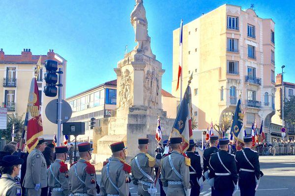 A Clermont-Ferrand, lundi 11 novembre ont eu lieu les commémorations de l'armistice.