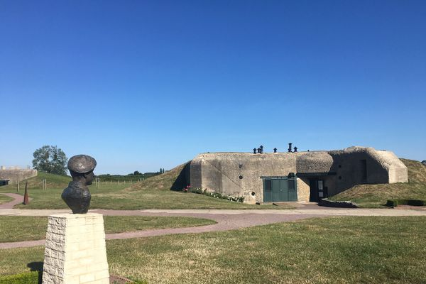 Le site de la batterie de Merville-France ville est actuellement en cours de numérisation