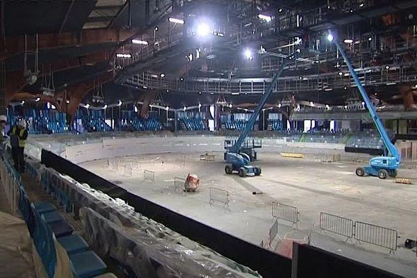 Le Stade couvert de Liévin bientôt opérationnel