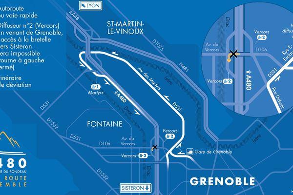 Accès limité au Pont du Vercors à partir de ce mardi 15 octobre