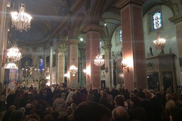 Le saint est dans la cathédrale Sainte Marie, dans la citadelle de Bastia.