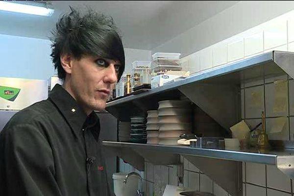 Olivier Streiff, candidat de l'émission Top Chef, en 2015, a ouvert son restaurant à Beaune, en mars 2016.