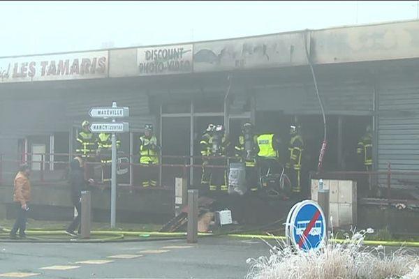 Les pompiers sont intervenus vers 6 heures ce mercredi 26 décembre pour maîtriser un incendie à Nancy