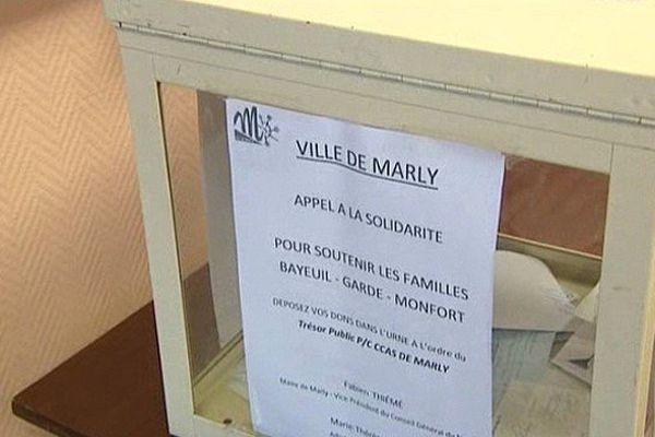 97 000 € de dons ont déjà afflués à Marly pour les orphelins du couple Bayoeuil décédés le 30 mai dernier dans un accident de la route