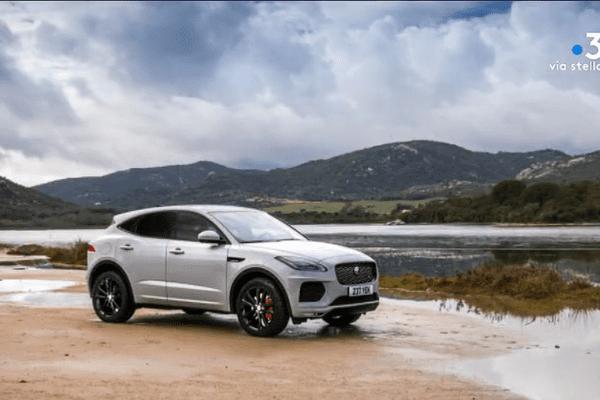 Jaguar choisi la Corse pour la promotion de son nouveau SUV