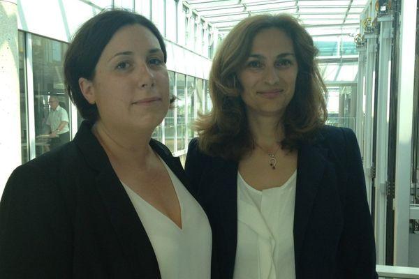 Anne Pernelle Richardot et Cléo Schweitzer