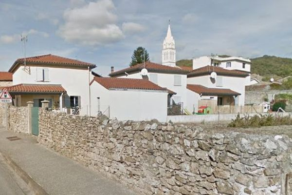 Le village d'Erôme (Drôme)