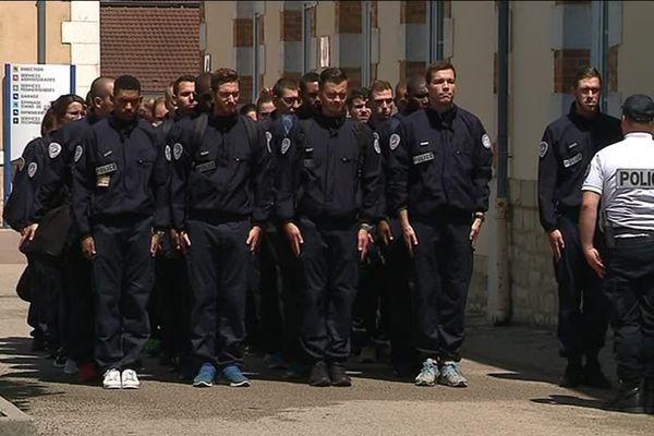 L'école nationale de police est installée à Sens, dans l'Yonne (image d'archives)
