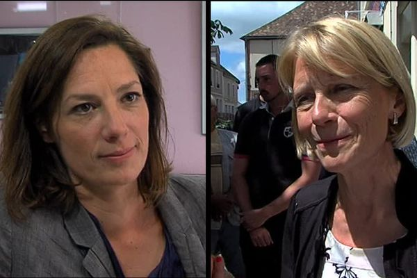 Ophélie Lerouge (LREM) et Véronique Louwagie (LR) sont qualifiées pour le second tour des législatives dans la deuxième circonscription de l'Orne.