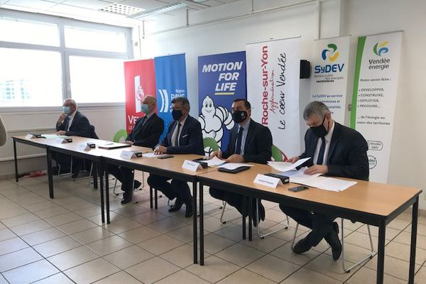 Le site Michelin de La Roche-sur-Yon se transforme en Pôle d'innovation sur les énergies durables, mars 2021
