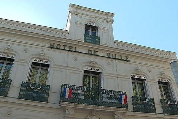 Lunel (Hérault) - la mairie - 2018.