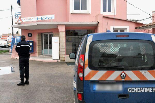 L'hôtel où a été découvert le corps de l'enfant à lunel
