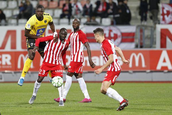 Match Nancy/Niort en octobre 2019. Son dernier but à Nancy restera gravé dans les mémoires, Ibrahim Sissoko élimine deux joueurs avant de tromper le gardien adverse