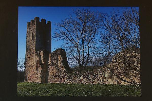 La tour avant effondrement