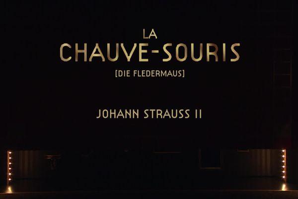 La chauve-souris de Johann Strauss depuis l'Opéra de Rennes