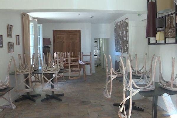 L'activité hôtelière tourne au ralenti avec le reconfinement, exemple à Gallargues, dans le Gard