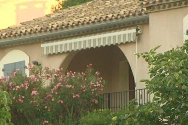 La maison où vivait le couple assassiné