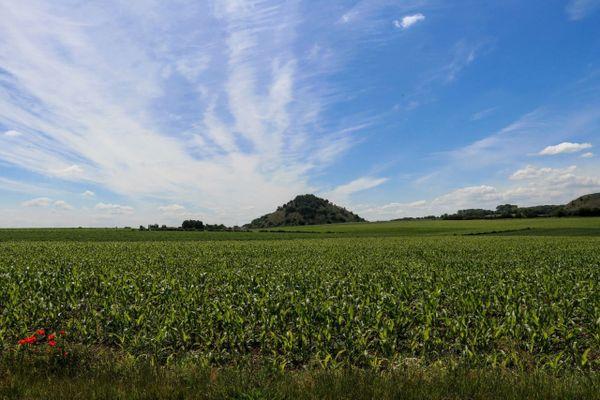 Un paysage près de Bruay-la-Buissière.