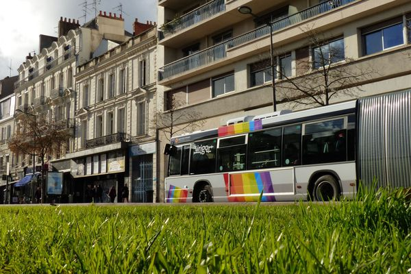 Un bus à Angers