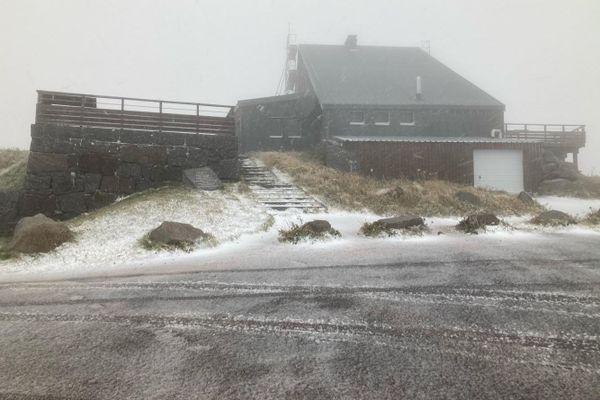 Trois à cinq centimètres de neige sont attendus en altitude pour la journée du 26 septembre 2020.
