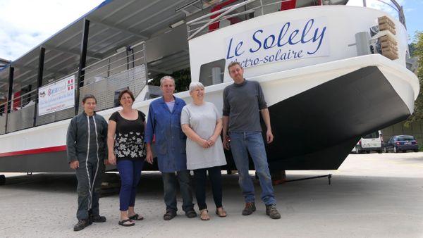 Construire des bateaux, une affaire de famille chez les Michel