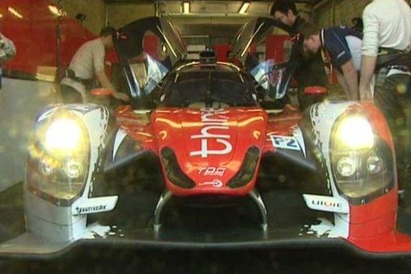 La Ligier-Nissan n°46 pilotée par Pierre Thiriet