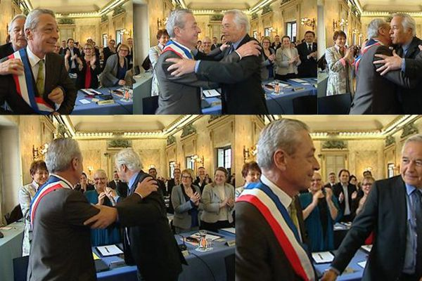 Alain Millot est le nouveau maire de Dijon depuis ce samedi 5 avril 2014