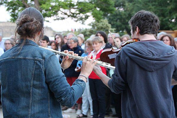 La fête de la musique à Caen en 2014, six ans avant la crise sanitaire.