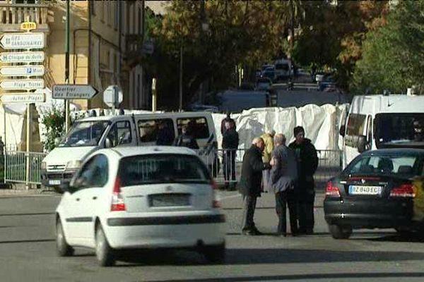 Reconstitution de l'assassinat d'Antoine Nivaggioni, le 24 novembre 2015 à Ajaccio