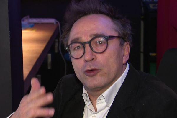 Michel Didym, ex-directeur du théâtre de la Manufacture de Nancy.