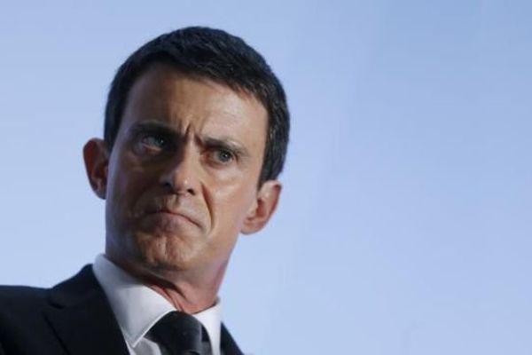 Le Premier ministre Manuel Valls lors d'une conférence de presse à Paris - 3 février 2016