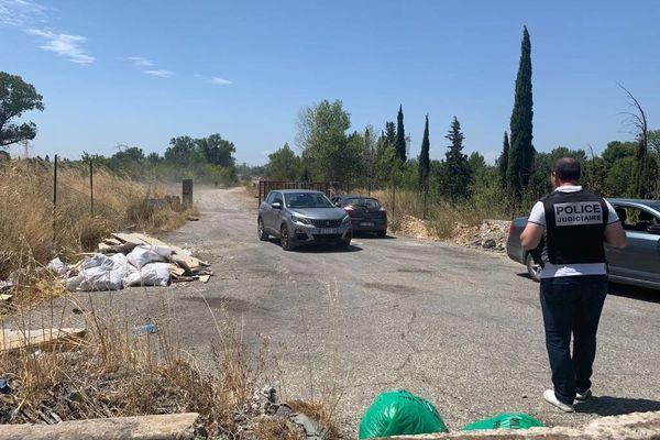 Avignon (Vaucluse) - île de Piot, un corps retrouvé - 23 juillet 2020.