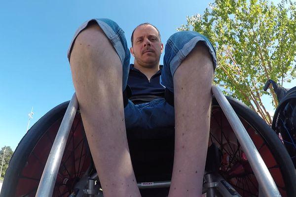 Rien n'arrête l'ancien champion paralympique