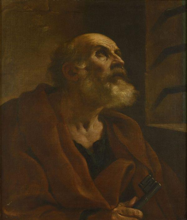 """""""Saint Pierre en prison"""", tableau de Le Guerchin"""