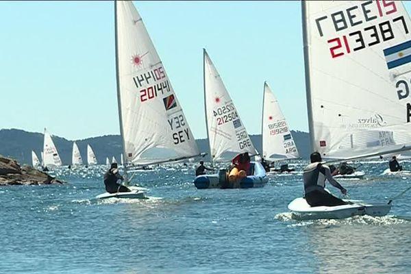 197 concurrents pour la 51ème édition de la Semaine olympique française de voile à Hyères.