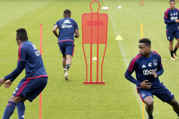 L'Ajax à l'entraînement