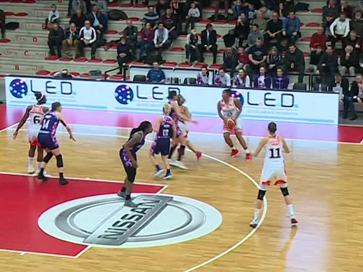 Basket ball (Eurocoupe féminine) : les Flammes Carolo