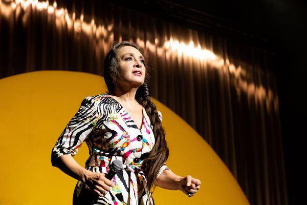 Catherine Ringer a chanté les succès du groupe Rita Mitsouko