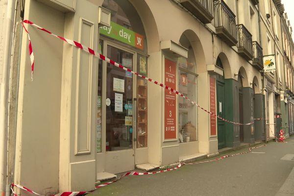 Les 30 et 32 rue Saint Hélier à Rennes concernés par un arrêté de péril