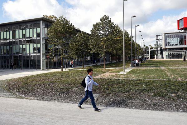 L'Université Picardie Jules-Verne (ici à Amiens) va contourner la décision gouvernementale d'augmenter les frais d'inscriptions des étudiants étrangers issus de pays hors UE.