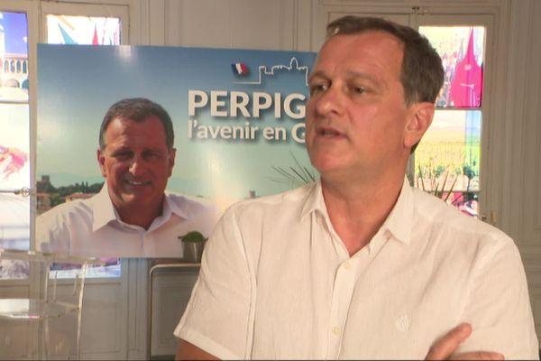 Louis Aliot candidat à la présidence de l'agglomération de Perpignan